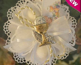 First Holy Communion Confetti Flower almond favor Bomboniere