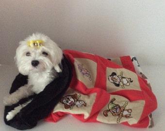 Embroidered Cuddle Sac