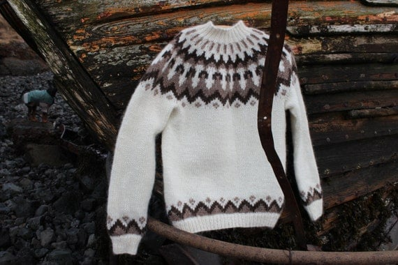 Traditional Wool Pullovers, handmade with skill and care in Iceland.