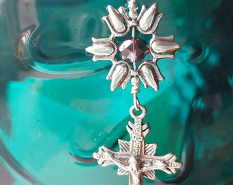 Sterling Crucifix Necklace