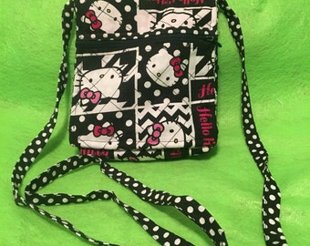 Quilted hello kitty hipster