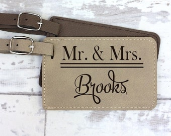 Luggage Tag - Anniversary Gift - Wedding Gift