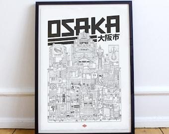 Osaka A4