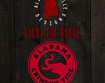 Alabama Crimson Tide - Car Decal