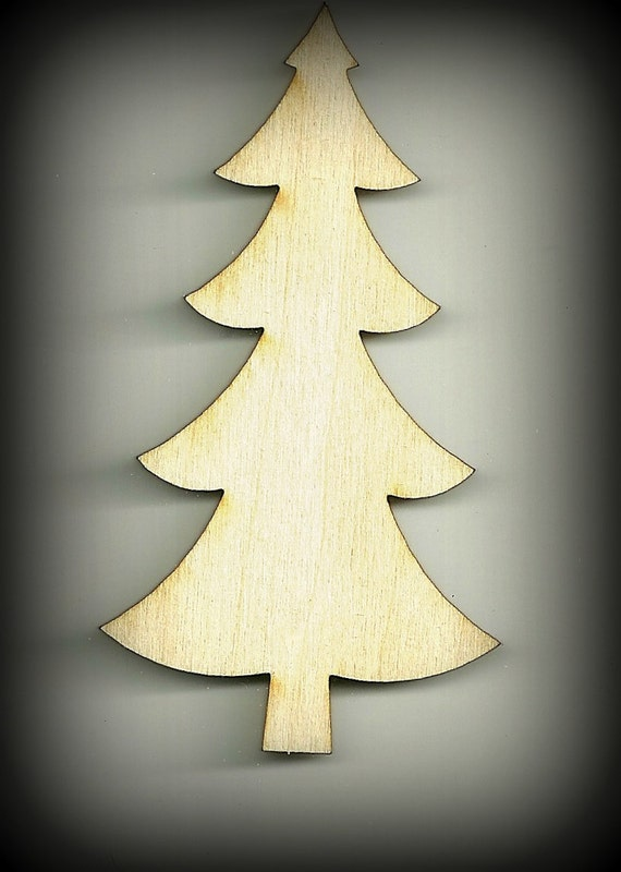 Craft Tree Christmas Tree Cutouts Wood Baby Mobile