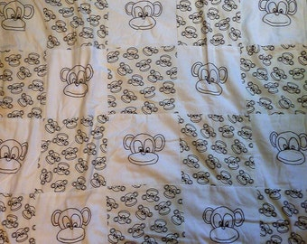 The Monkeys have it baby/child quilt