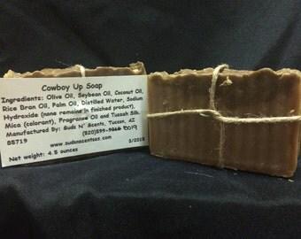 Cowboy Up Soap