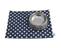 Pet mat/ Pet Feeding Mat Placemat for under the feed bowl Dog and Cat