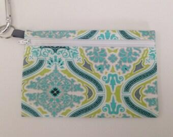 Coin purse pouch - credit card holder - chain purse