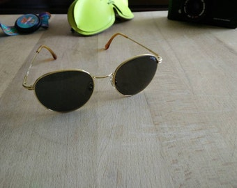 """NEW Classy vintage 90s Sting """"college"""" made in italy sunglasses"""