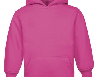 Plain Blank Baby and toddlers Hoodie Jumper Ages 0-3yrs