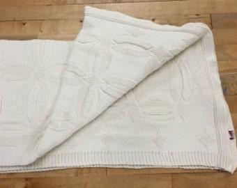 Wedding Ring 100% Natural Cotton Throw Blanket