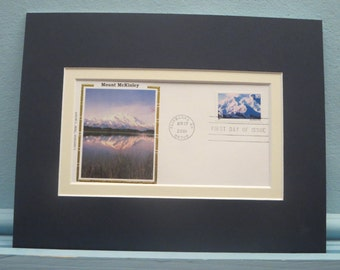 The National Park Service -  Mount McKinley National Park & First Day Cover of its own stamp