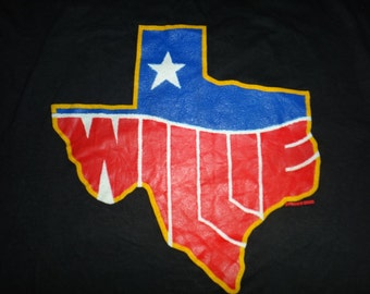 Vintage 1984 Willie Nelson T Shirt
