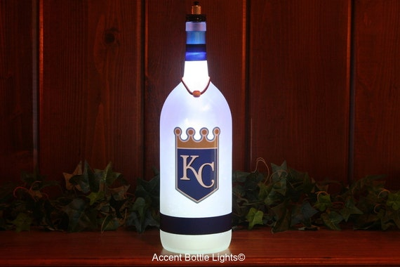 Man Cave Decor Store Kansas City : Kansas city royals baseball decal accent by accentbottlelights