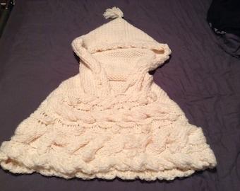 Handmade hooded cowl