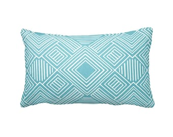 SALE | 30% OFF: Blue Pillow Cover Blue Throw Pillow Cover Decorative Pillows for Couch Pillow Geometric Pillow 16x16 12x24 12x22 12x20 12x18