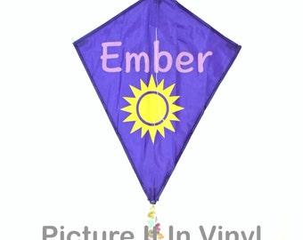 Personalized kite, kid's kite, flying kite