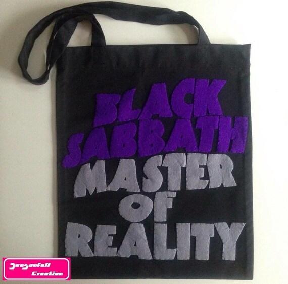 Tote bag Black Sabbath
