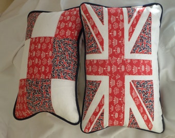 Union Jack cushion, Union Jack pillow