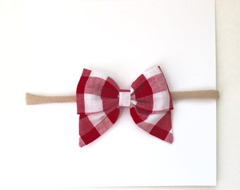 Mini Sailor ~ Red Gingham