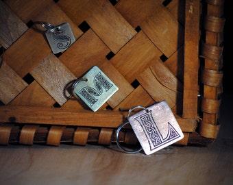 Pet Tags - Pet ID Tag - Dog Tag - Dog ID Tag - Custom Dog Tag - Personalized Dog Tag - Cat Tag - Custom Pet - Celtic - Celtic Pet - Alphabet