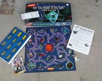 Are you afraid of the dark 90's board game complete