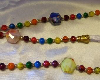 Chakra Paternoster/prayer/meditation beads  **FREE SHIPPING!!!