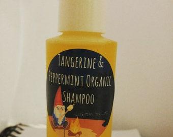 Tangerine + Peppermint Organic Castile Shampoo