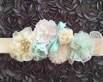 Maternity Sash / Flower Maternity Sash