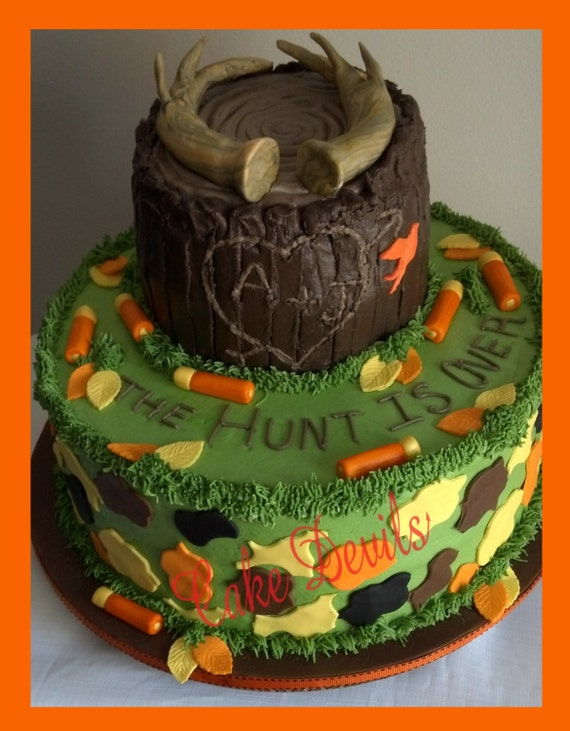Deer Birthday Cake Ideas