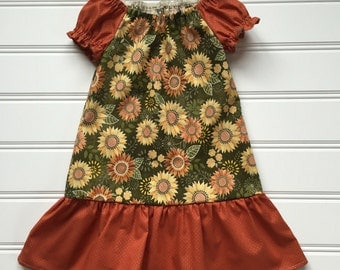 Fall Dress for Girl, Girls Fall Dress, Little Girl Dress, Cute Dress for Girl, Toddler Girl Dress, Girls Party Dress, Toddler Girl Clothes