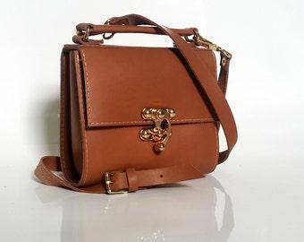 GENUINE LEATHER BAG, handmade bags, full grain leather handbag, small bag, purse