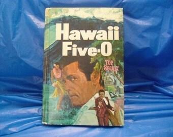Vintage Hawaii Five-O book Top Secret Whitman 1511 TV tie-in 1969