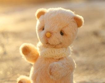 Honey Teddy Bear 20 cm OOAK