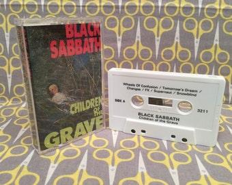 Children Of The Grave by Black Sabbath Cassette Tape heavy metal