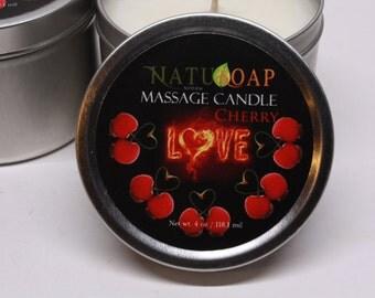 Massage Candle Cherry