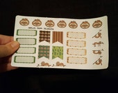 Stickers- Sloth Fun Planner Stickers