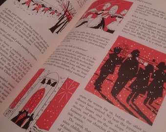1961, The Complete Christmas Book, Vintage Christmas Books