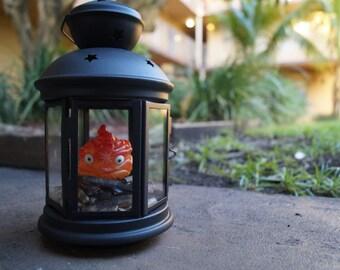 Light Up Calcifer Lantern