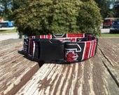 USC Fabric Dog Collar