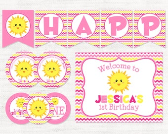 Sunshine Printable Party Pack