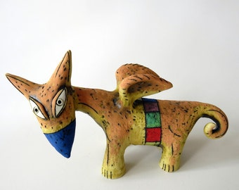The orange fox Dodo