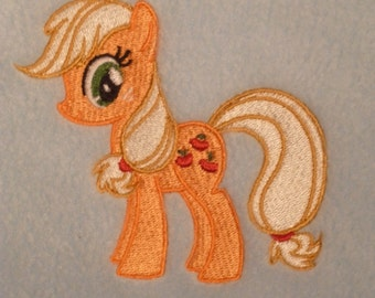 Applejack My Little Pony Design (199) - Personalised Cotton Bath Towel