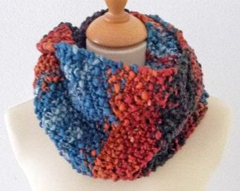 Chunky knit multicolor kol