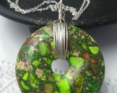 Green Impression Jasper Necklace