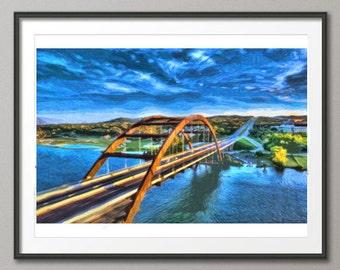 Pennybacker Bridge, Austin Texas