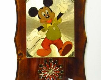 Disney Wall Clock Etsy