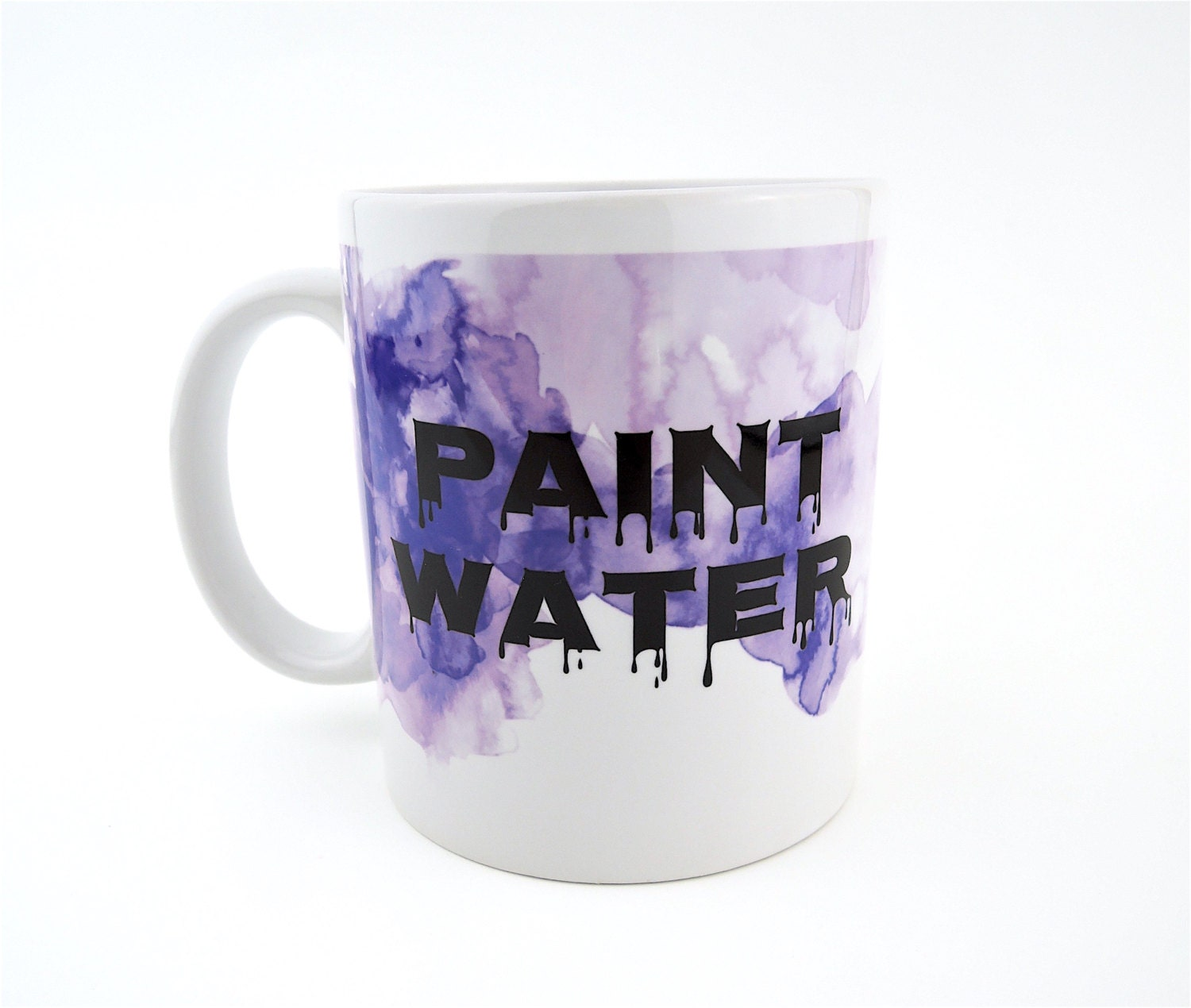 Paint water coffee mug paint cup water cup artist gift for How to paint a mug