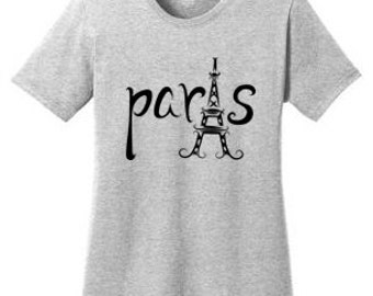 Paris Eiffel Tower Travel T-Shirt